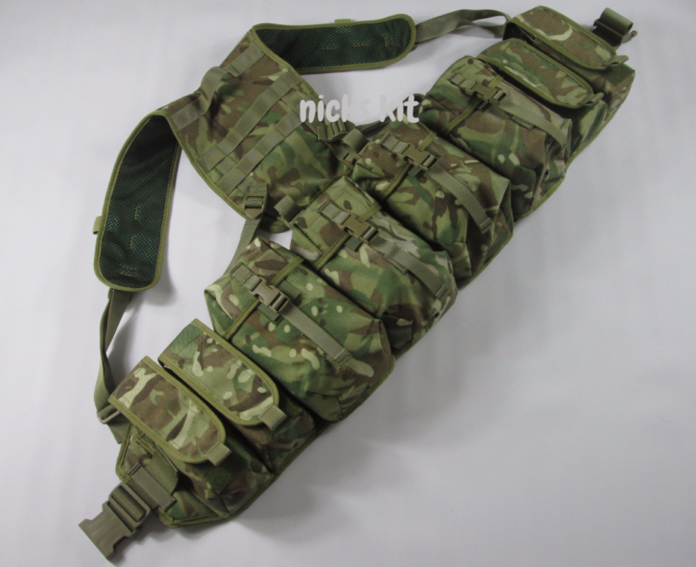 Raven Systems Mtp Pathfinder Webbing 4 Utility Pouches